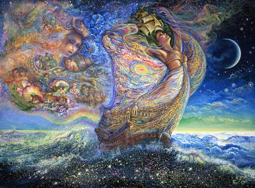 Ocean of Dreams Josephine Wall